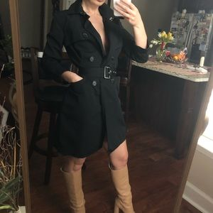 Max &Co black Trench size XS